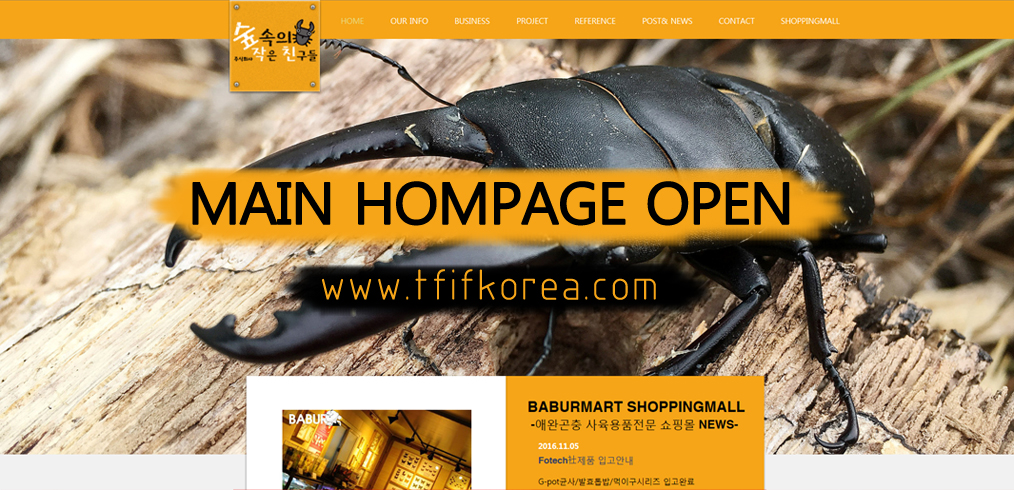 MAIN HOMPAGE OPEN