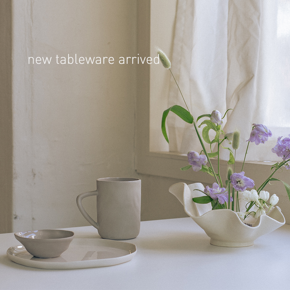 new tableware