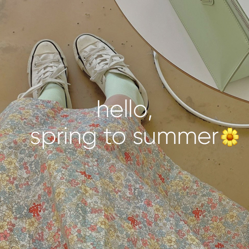 spring to summer new item ♥