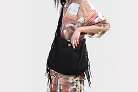 s/e/o - Cotton Fringe Bag