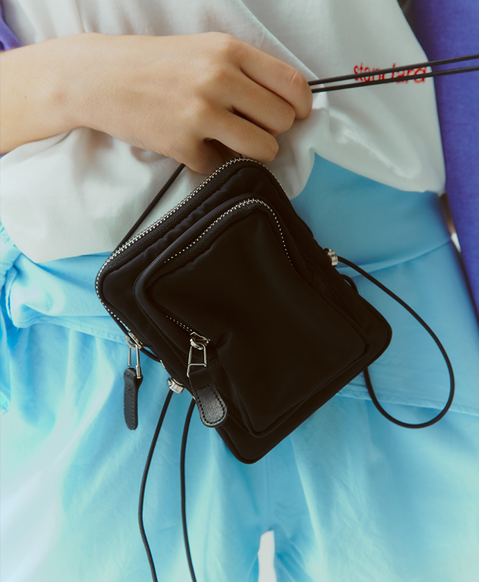 Exclusive - Heights. x KIJUN Satin Mini Bag